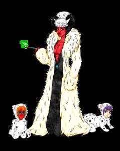 Cruella De Vil Transparent Background PNG Clip art