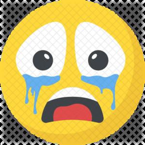 Crying Emoji PNG Transparent Background PNG Clip art