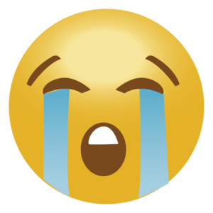 Crying Emoji PNG Transparent File PNG Clip art