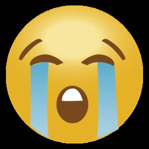 Crying Emoji PNG Transparent File PNG Clip art