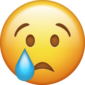 Crying Emoji PNG Transparent PNG Clip art