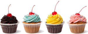 Cupcake Transparent Background PNG Clip art