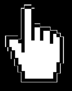 Cursor Hand PNG Image PNG Clip art