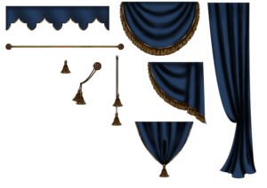 Curtains PNG Transparent PNG Clip art