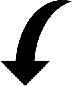 Curved Arrow Download PNG Image PNG Clip art