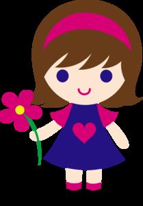 Cute Cartoon Girl PNG Clipart PNG Clip art