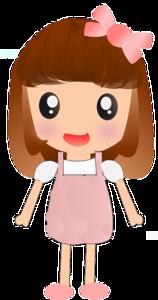 Cute Cartoon Girl PNG Image PNG Clip art