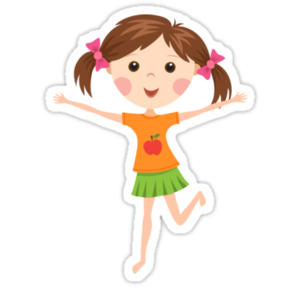 Cute Cartoon Girl PNG Picture PNG Clip art