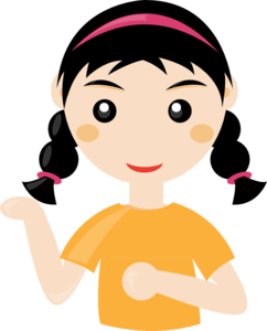 Cute Girl Transparent Background PNG Clip art
