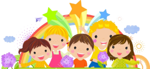 Cute Kids Transparent Background PNG Clip art