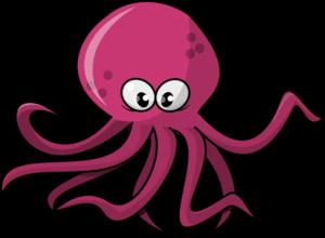 Cute Octopus PNG File PNG Clip art