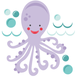 Cute Octopus PNG Free Download PNG Clip art