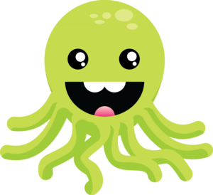 Cute Octopus PNG Image PNG Clip art