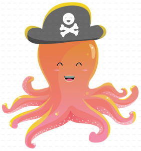 Cute Octopus PNG Picture PNG Clip art