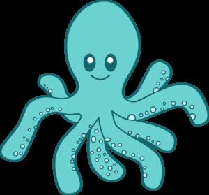 Cute Octopus PNG Transparent Picture PNG Clip art