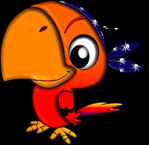 Cute Parrot PNG File PNG Clip art
