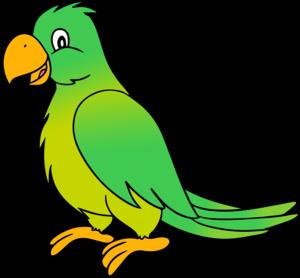 Cute Parrot Transparent Background PNG Clip art