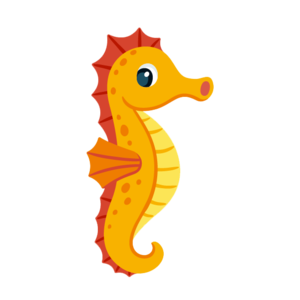 Cute Seahorse PNG Free Download PNG Clip art