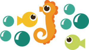 Cute Seahorse PNG HD PNG icons