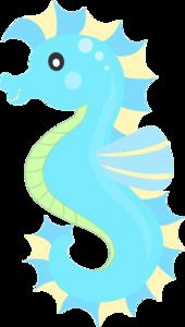 Cute Seahorse PNG Transparent Image PNG Clip art
