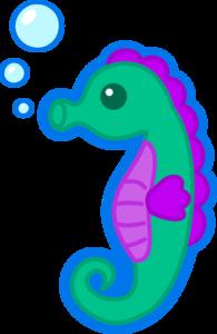 Cute Seahorse Transparent PNG PNG Clip art