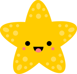 Cute Starfish PNG Free Download PNG Clip art