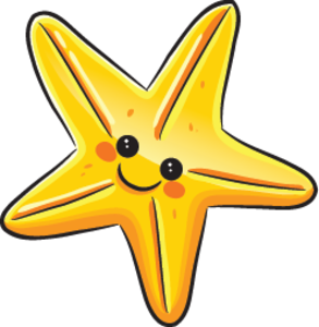 Cute Starfish PNG Transparent Image PNG image