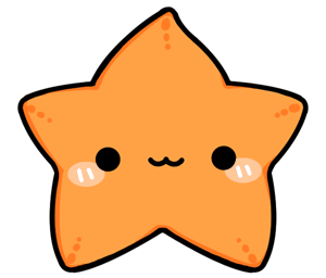 Cute Starfish PNG Transparent PNG Clip art