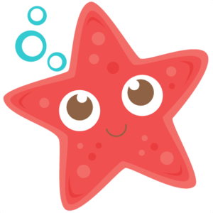 Cute Starfish Transparent Background PNG Clip art