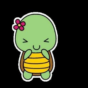 Cute Turtle PNG HD PNG Clip art