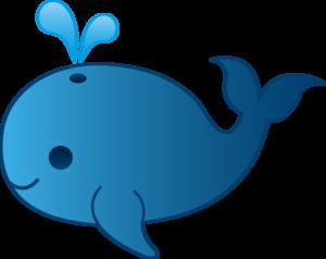 Cute Whale PNG Clipart PNG Clip art