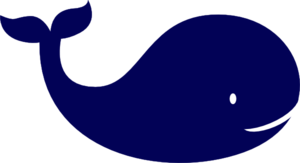 Cute Whale PNG Image PNG Clip art