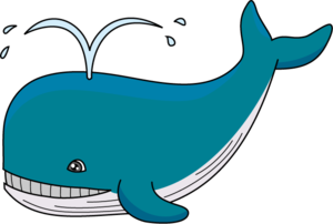 Cute Whale PNG Transparent Image PNG icon