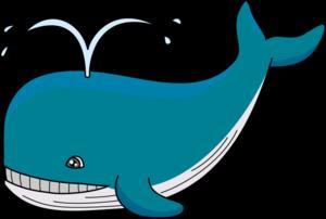 Cute Whale PNG Transparent Image PNG Clip art