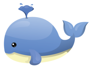 Cute Whale Transparent PNG PNG Clip art
