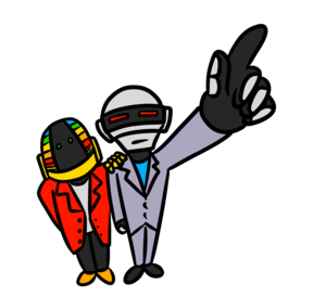 Daft Punk PNG Picture PNG Clip art