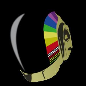 Daft Punk Transparent Background PNG Clip art