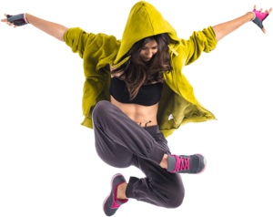 Dance Girl Transparent Background PNG Clip art