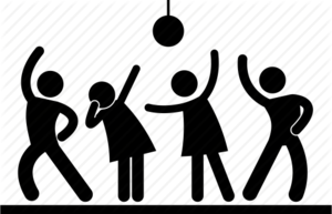 Dance Party PNG Free Download PNG Clip art