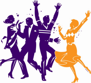 Dance Party PNG Pic PNG Clip art