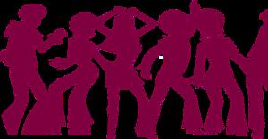 Dance Party Transparent PNG PNG Clip art