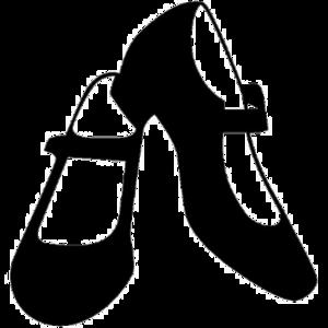 Dance Shoes Transparent Background PNG Clip art