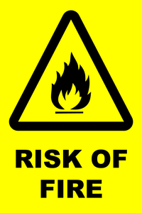 Danger Fire PNG Image PNG clipart