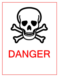Danger Sign PNG Image PNG image