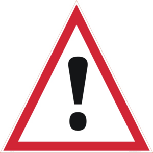 Danger Sign PNG Transparent PNG icon