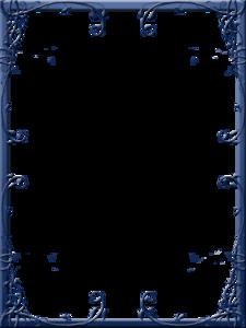 Dark Frame PNG Pic PNG Clip art
