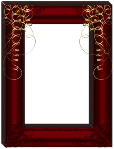 Dark Frame Transparent Background PNG Clip art