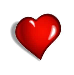 Dark Red Heart PNG Free Download PNG Clip art