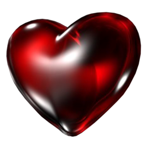 Dark Red Heart PNG Transparent Image PNG Clip art