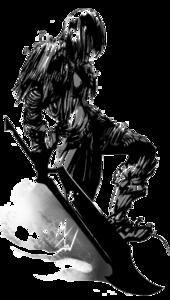 Dark Warrior PNG Pic PNG Clip art